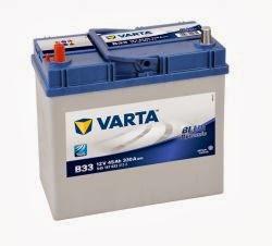 varta blue dinamik serisi oto aküsü fiyatları 12 volt 45 amper