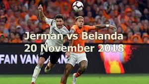 Prediksi Jerman vs Belanda 20 November 2018