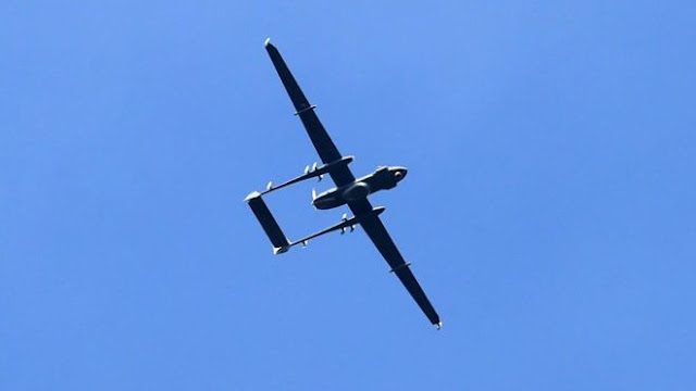 A March 2017 file picture of an Indian army drone