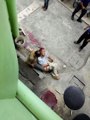 Sakit Ginjal Tak Kunjung Sembuh : Sitepu Nekad  Lompat Dari Lantai 4 RSu Al FuadiBinjai