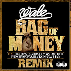 Wale - Bag Of Money (Remix) (Feat. Lil Wayne, T-Pain, Rick Ross, Omarion, Yo Gotti, French Montana & Black Cobain)