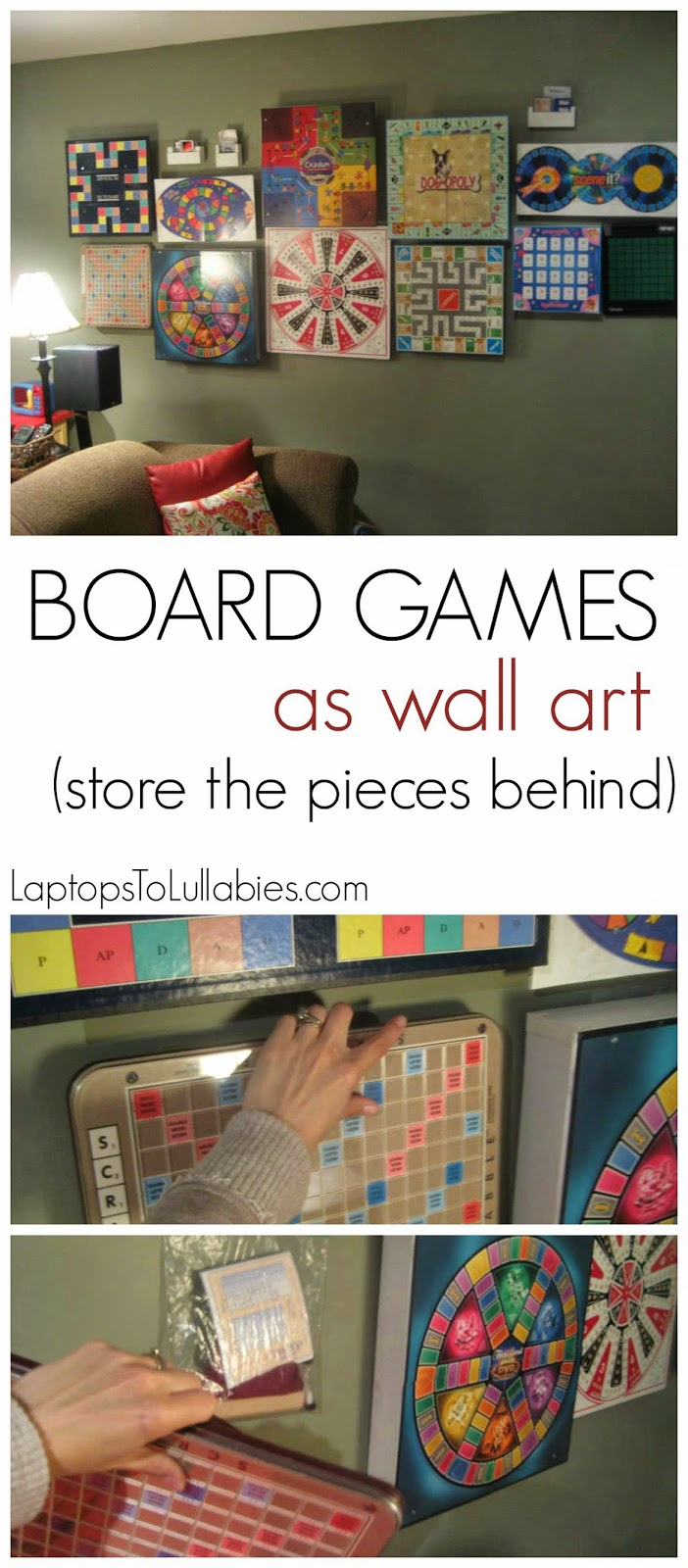 laptops to lullabies our organized toyroom a board game