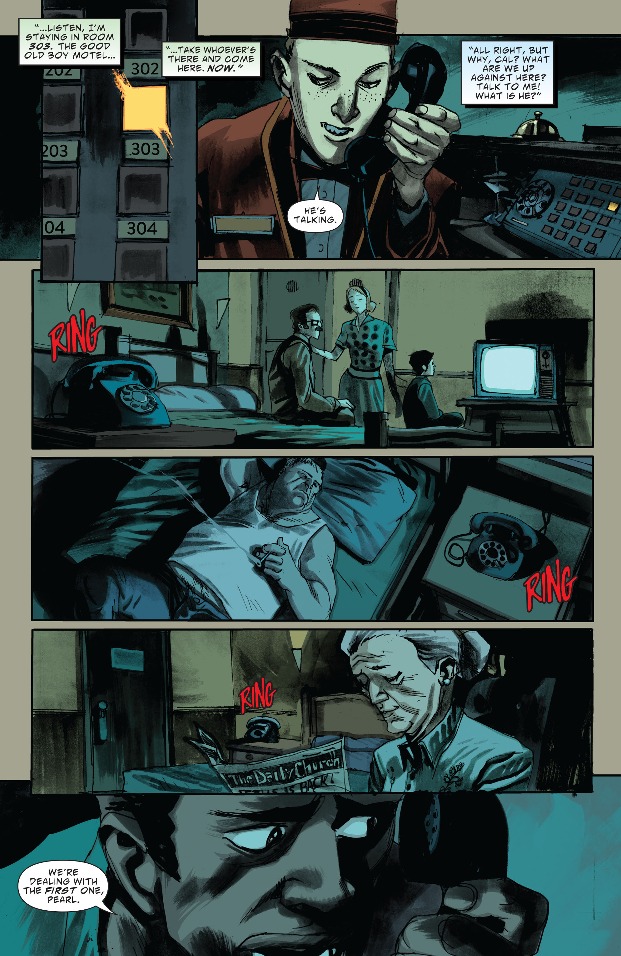 Read online American Vampire: Second Cycle comic -  Issue #2 - 18
