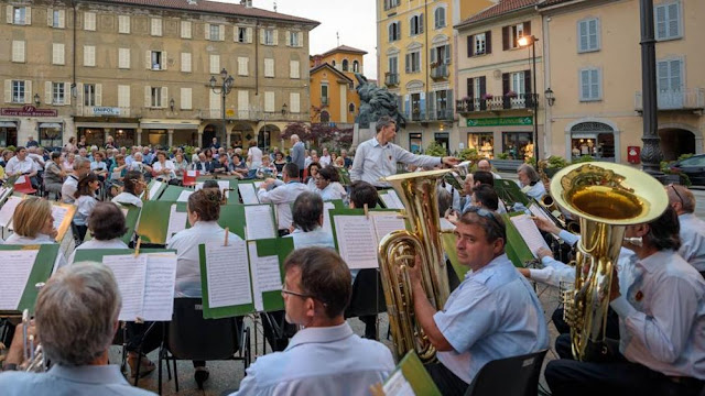 Santa Cecilia : L'orchestra di fiati per Santa Cecilia sarà benefico il concerto al teatro Pro loco di Borgosesia