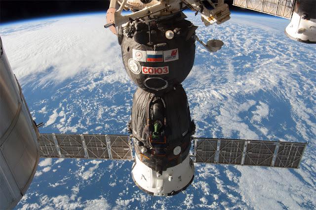 capsula russa Soyuz