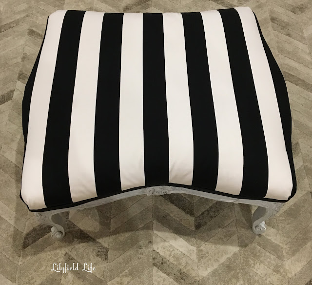 lilyfield life french ottoman striped fabric