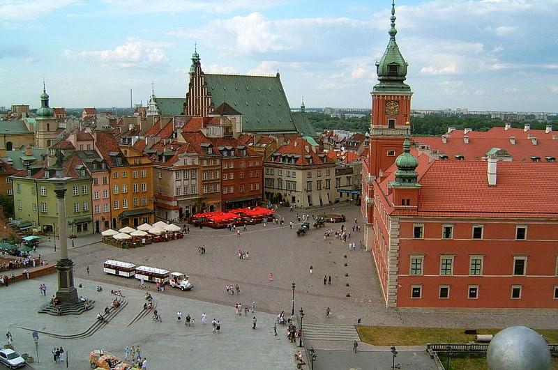 波蘭華沙 - 歐洲旅遊景點 / 歐洲觀光景點: 波蘭華沙