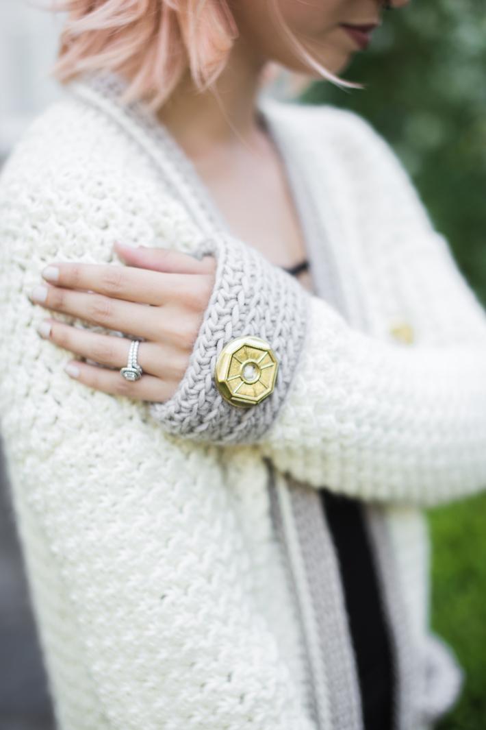 @thehooknook Evangeline Cardigan Free Crochet Along Week 3 for Furls Crochet