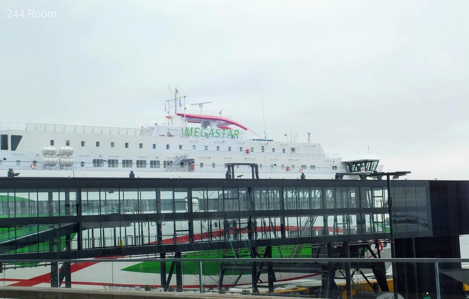 Tallinksilja line Megastar ferry