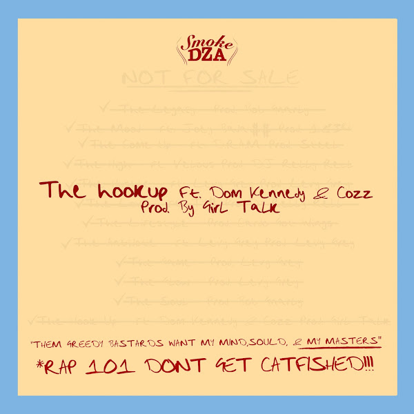 Smoke DZA - The Hook Up (feat. DOM KENNEDY & Cozz) - Single Cover