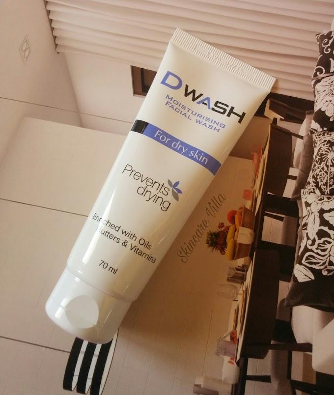 Dwash Moisturising Facial Wash Review