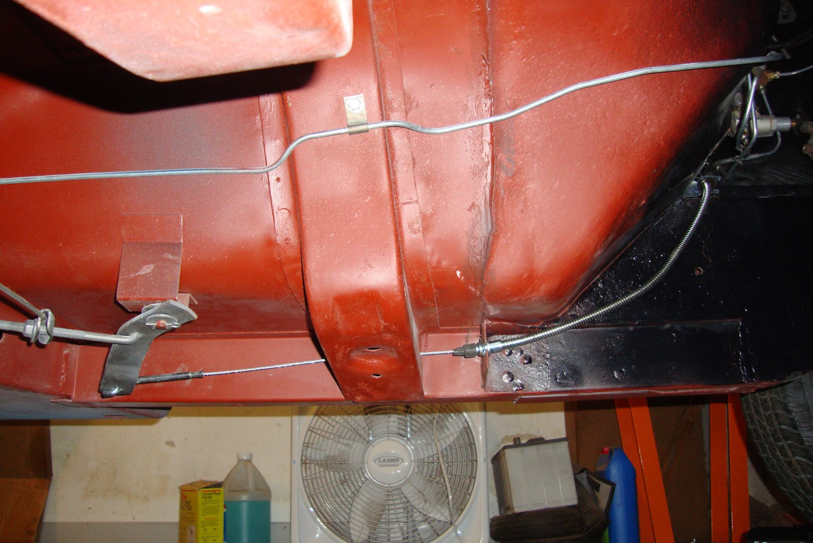 68 Convertible Parking Brake Cable Routing  Vintage
