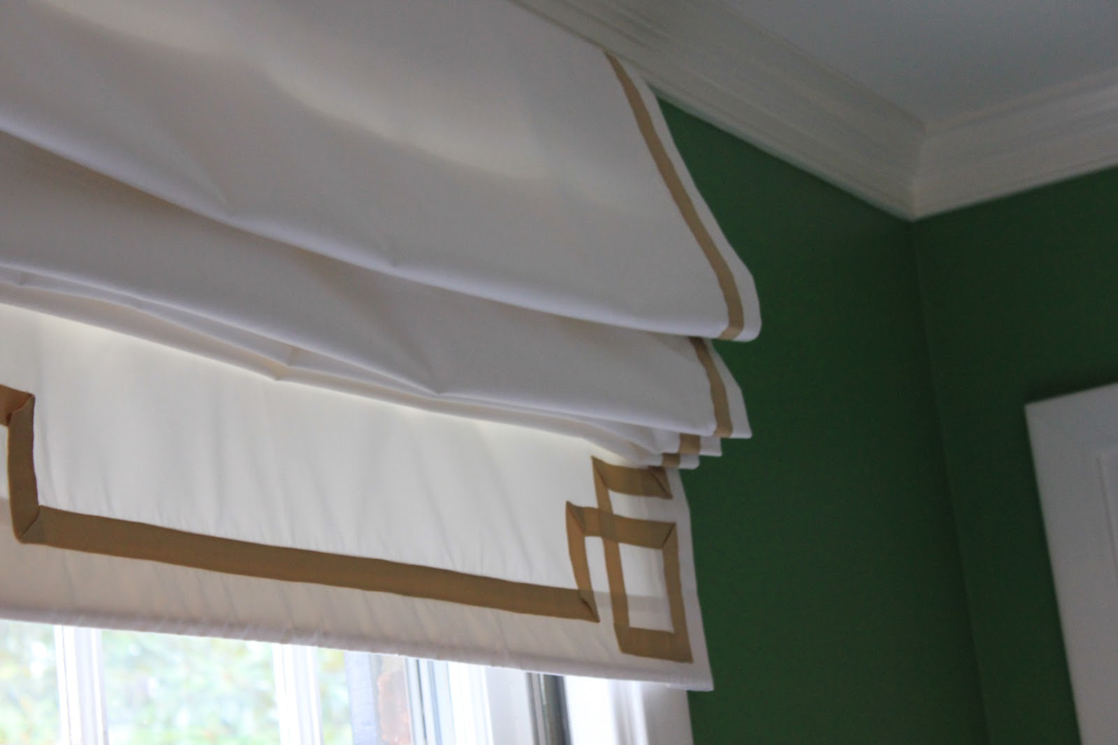 Diy Roman Shades Easy Westhampton Diy How To Make A Roman Shade From A Curtain With Or
