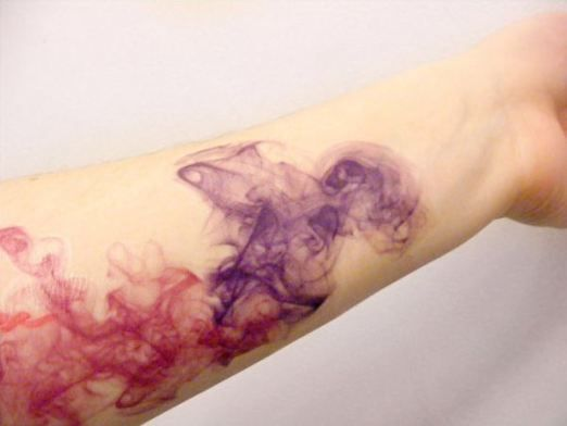 Trendy Watercolor Tattoo Designs