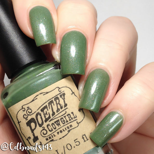 Poetry Cowgirl Nail Polish-VIP's Talkin' With The Trees