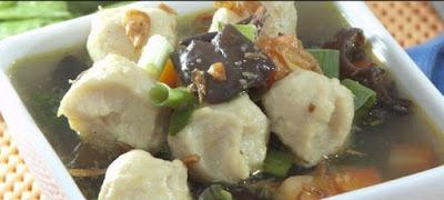 Resep Masakan Sup Bakso Cumi