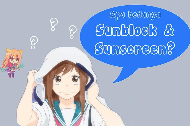 Sunscreen+Sunblock+perbedaan