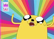 Hora de aventura: Jake colors juego