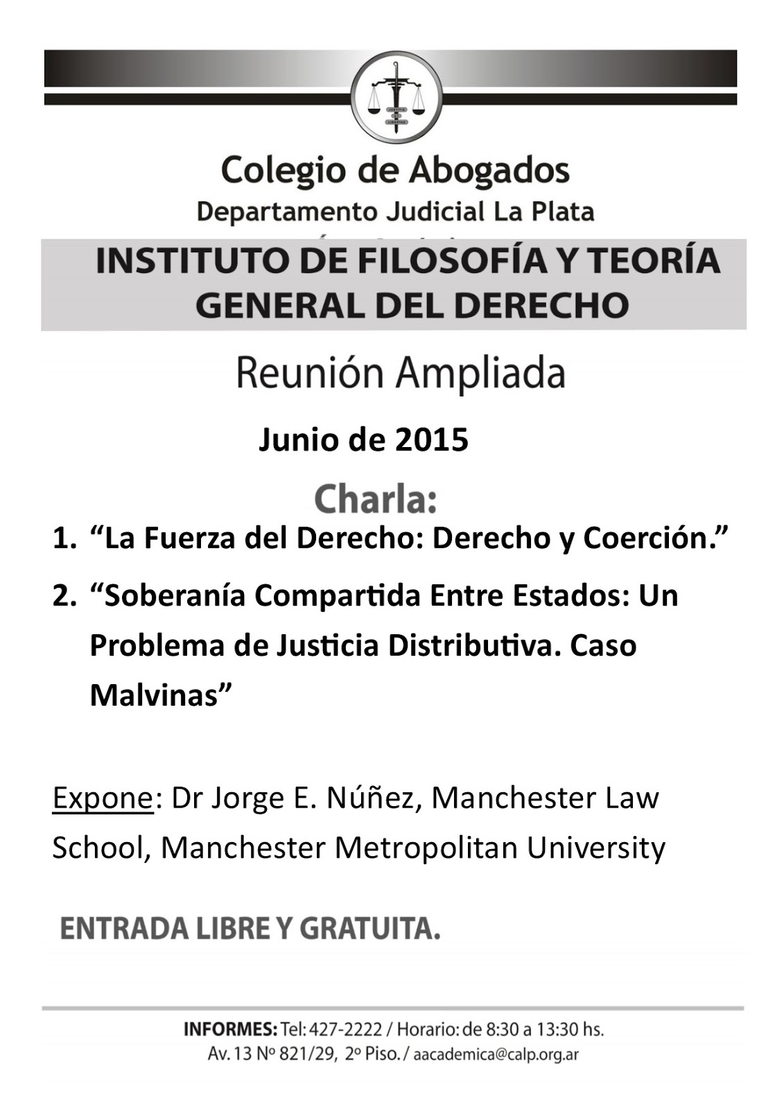 Dr Jorge's blog: The Force of Law: Law and Coercion