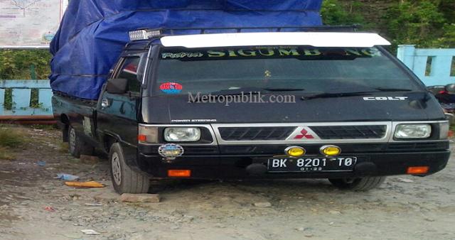 Dicarter Untuk Angkut Kursi Gereja,Mobil L300 Raib