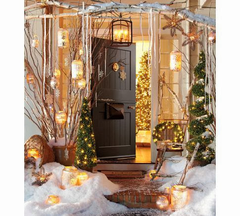 Early Christmas Decor Ideas - Your Front Entrance
