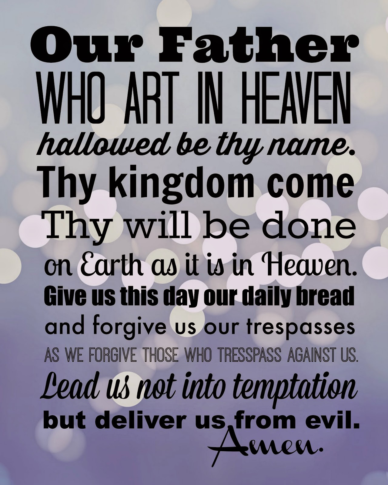 Catholic All Year In Which There Are Seven Free Printable Prayers And So Many Other Things