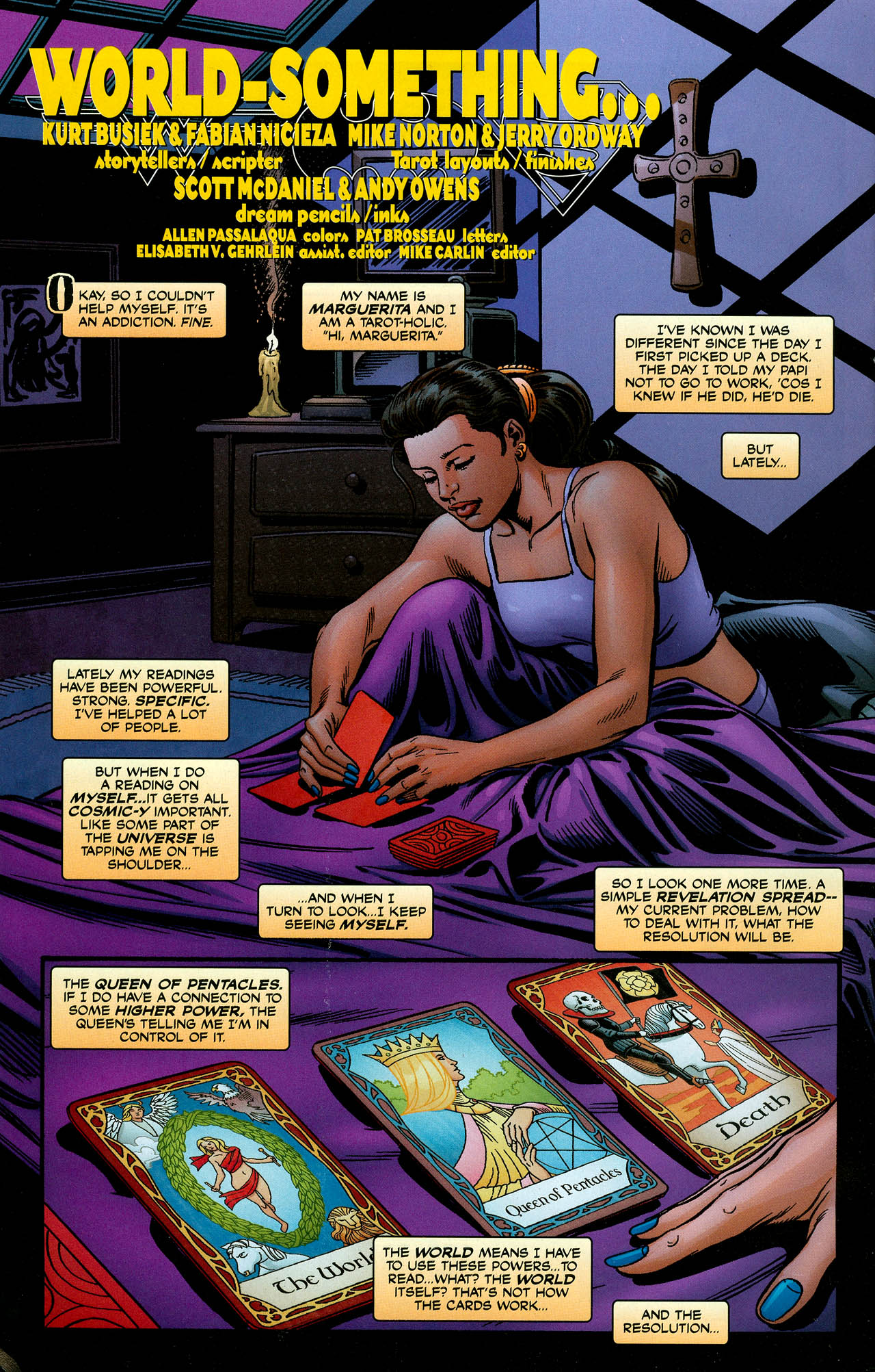 Read online Trinity (2008) comic -  Issue #4 - 19