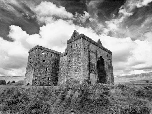 Hermitage Castle - Liddlesdale (Home of the Border Reviers)