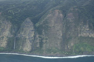 Kohala Cliffs and Waterfalls.
