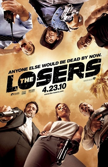 The Losers 2010 BRRip 480p Dual Audio Hindi 300MB