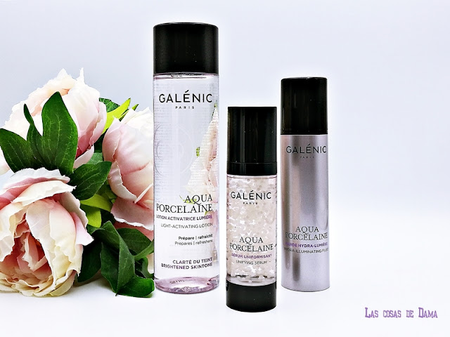 Aqua Porcelaine Galénic piel perfecta skincare beauty makeup perfection