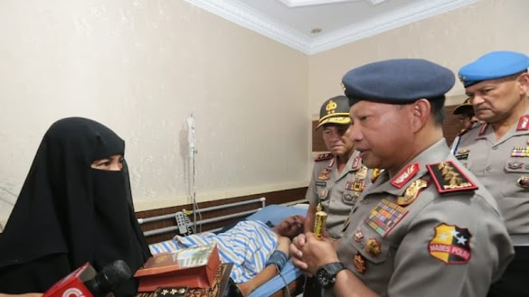 Istri Polisi Korban Teroris di Riau Bercadar, Ini Pengakuan Sang Kakak