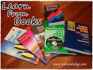 learn english from books