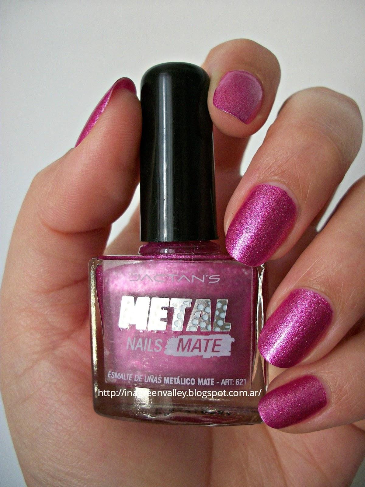 Grinvali: Reseña: Esmalte de uñas Metal Nails Mate - Jactans - 005 ...