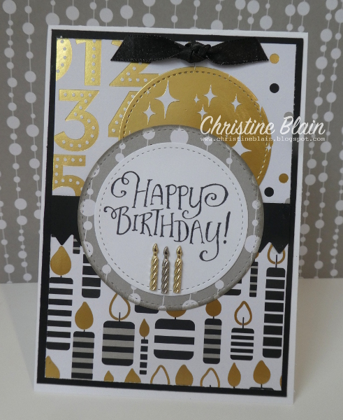 Happy Heart Cards Stampin Up Masculine Birthday Card With