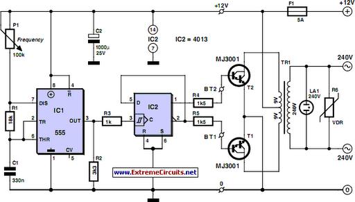 12v To 220v Inverter
