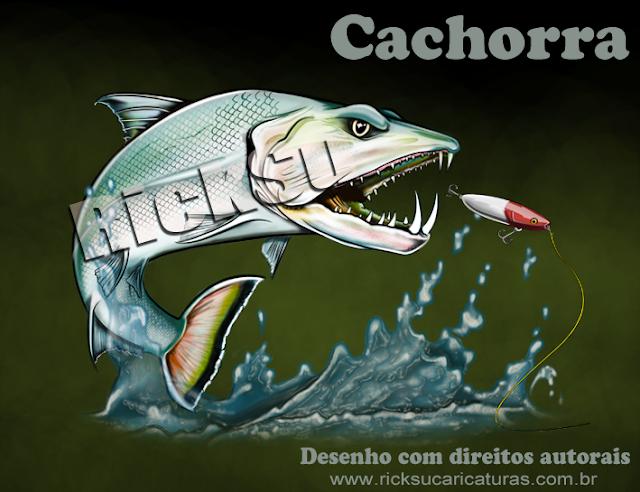desenho de peixe king