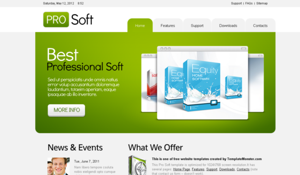 Template For Html5. 250 free responsive html5 css3 website ...
