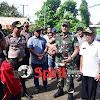 Sekda Dampingi Pangdam Wrb dan Kapolda Sulsel,Saat ke TPS