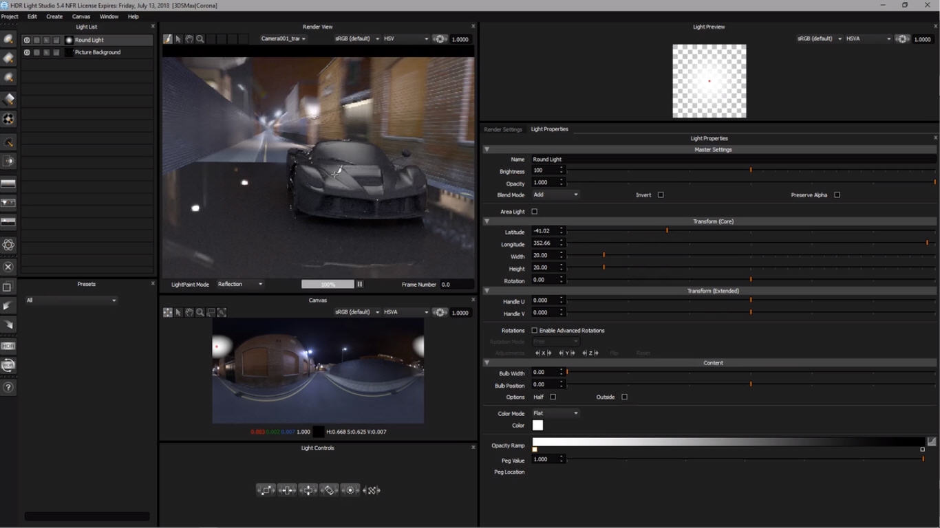 Enhancing HDRI Maps For Automotive Renderings | 3Ds Max+