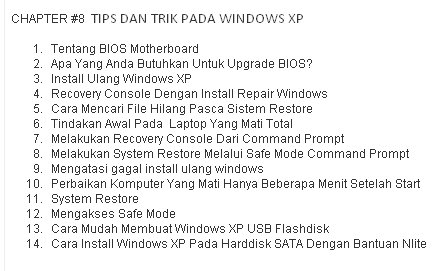 ebook teknisi belajar service laptop