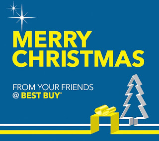 Merry Christmas from your friends at Best Buy