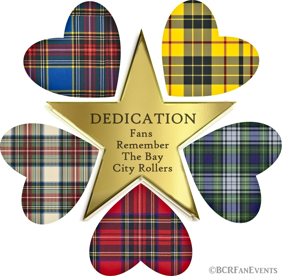 NEW:  CHECK OUT OUR PODCASTS! THE ONLY BAY CITY ROLLERS THEMED PODCAST IN THE WORLD!