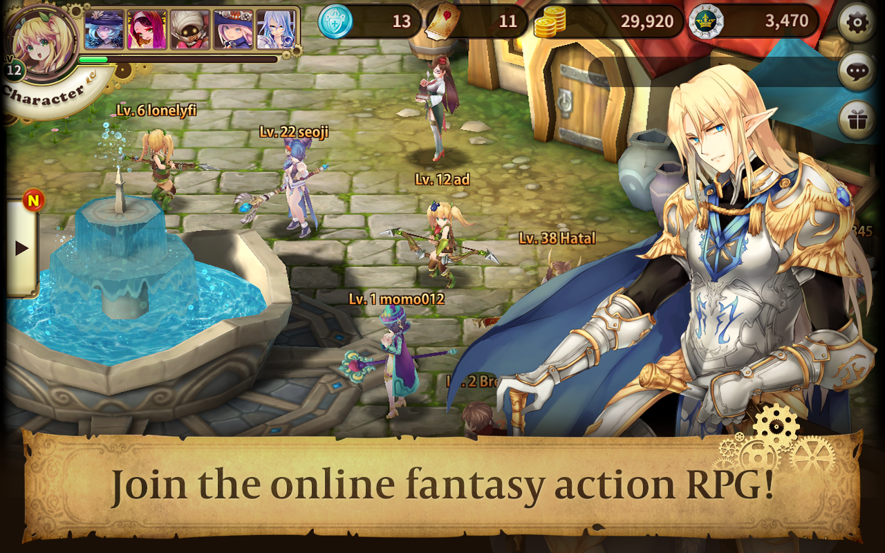 Download Nine Hearts APK  Free Role Playing Game - apk