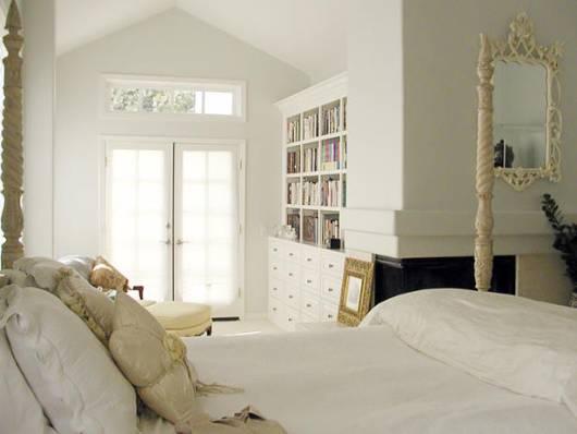 Fresh Decor Elegant White Bedrooms Inspiration