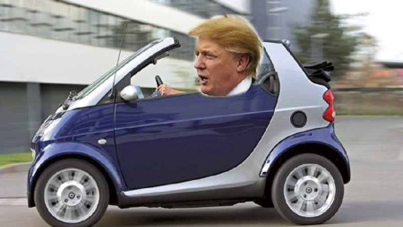The Automobile and American Life: Donald Trump Behind the Wheel