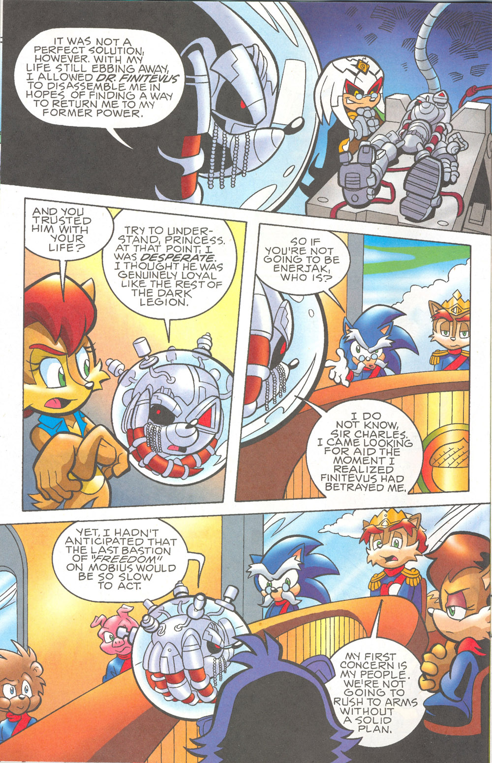 Read online Sonic The Hedgehog comic -  Issue #180 - 5