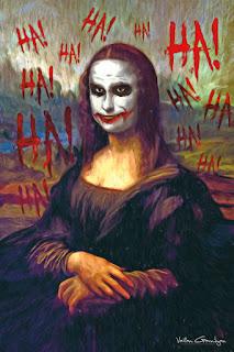 Guason o Joker y Mona Lisa