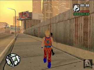 Gta San Andreas Goku MOD Game Download Highly Compressed