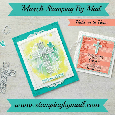 Stamping By Mail - Creativity delivered to your door - http://www.stampingbymail.com/